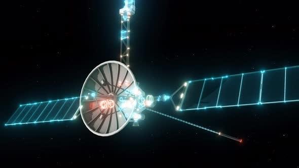 Earth Communication Satellite 4k