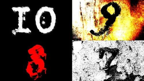 Grunge Countdown Pack