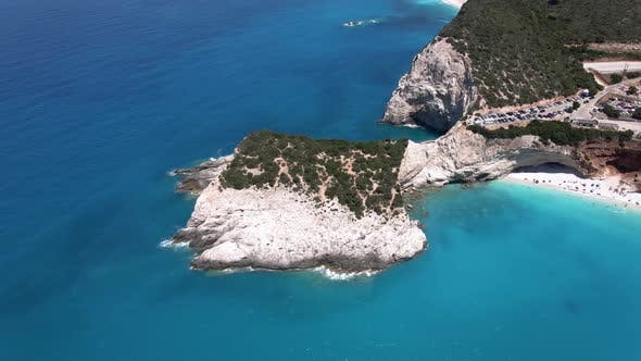Thumbnail for Lefkada, Porto Katsiki beach, Greece
