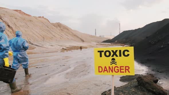 Ecologists In Toxic Zone