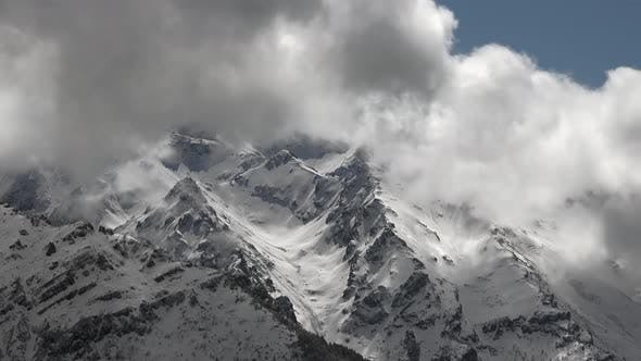 Magnificent and Splendid Mountain Mass