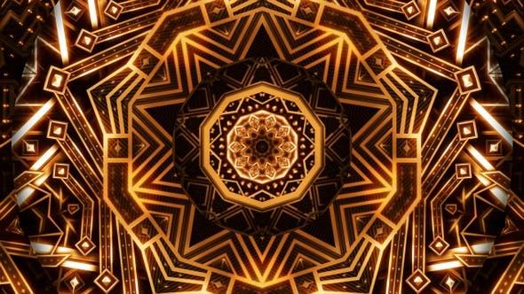 Thumbnail for Golden Art Deco Ornament Kaleidoscope