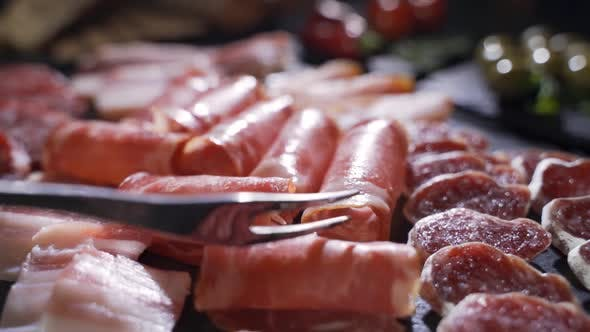 Thumbnail for Assorted Different Types of Spanish Sausages