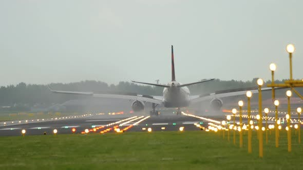 Thumbnail for Widebody Airplane Landing