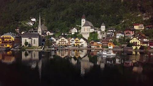Morning in Hallstatt, Salzkammergut, Upper Austria