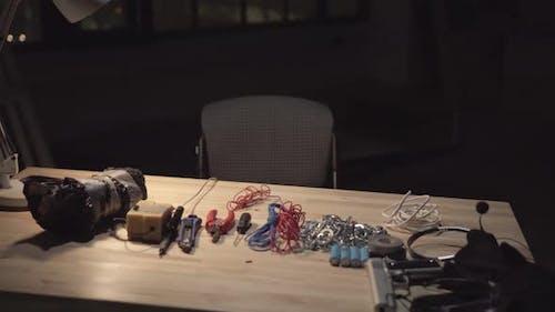 Prozess der Herstellung einer Bombe für einen Terroranschlag