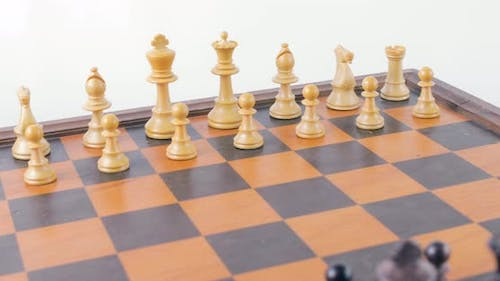 Chessboard with Chess
