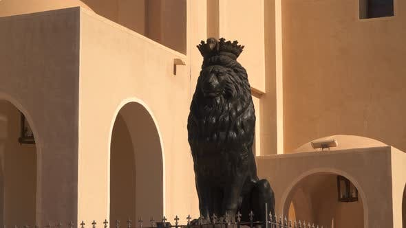 Thumbnail for Sculpture Of a Lion Near the Coptic Church in Sharm El Sheikh