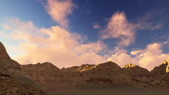 Thumbnail for Panorama of the mountains in the afternoon
