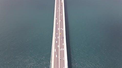 Drone Shot Bridge