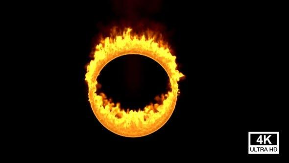 Thumbnail for Ring Of Fire Burning 4K