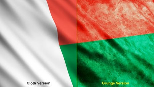 Madagascar Flags