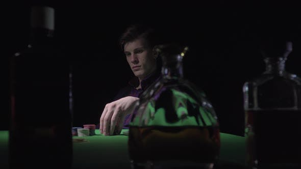 Thumbnail for Man at the Casino Card Table