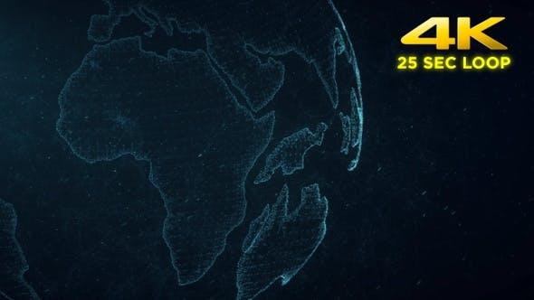 Thumbnail for Digital Plexus World Background