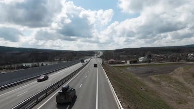 Highway outside the city