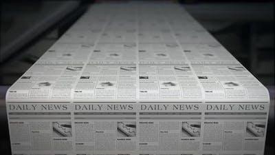 Newspaper Printing Process