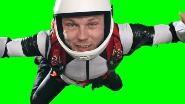 Thumbnail for Agitated Man Parachuting First Time