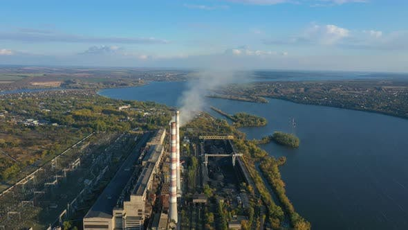 Thumbnail for Power Plant Aerial View 19