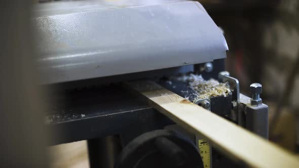 Thumbnail for Master Work at Woodworking Machine