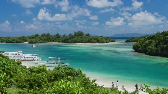 Cover Image for Kabira Bay in ishigaki island