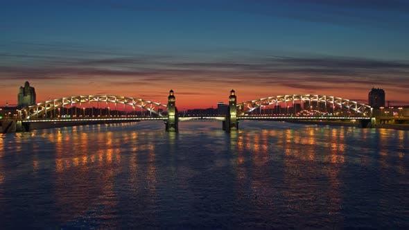 Thumbnail for Night Flight Over The Neva River