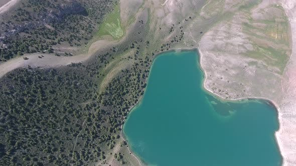 Thumbnail for Lakes and Mountains (Aerial)