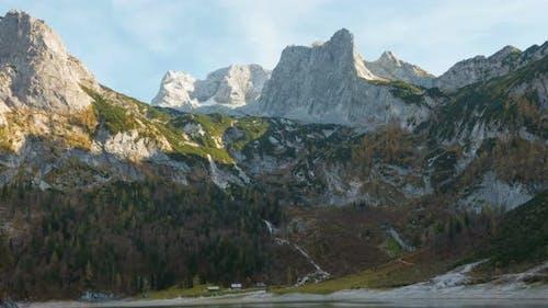 Dachstein Mountain And The Gosau Lake Time Lapse