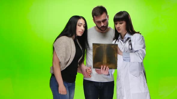 Thumbnail for Patients Waiting for the Results of X-rays From the Doctor