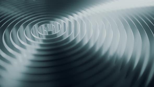Rotating Grey Coil