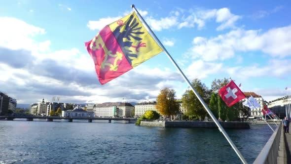 Thumbnail for Geneve Flag, Switzerland