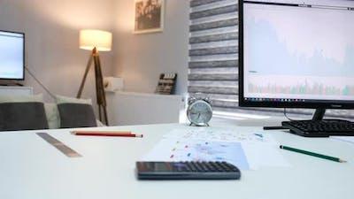 Financier's Desk