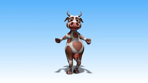 Fun Cow - Cartoon Dance 8