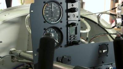Dashboard of Aircraft.