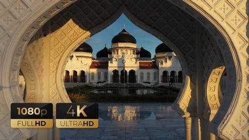 AH - Baiturrahman Grand Mosque 10
