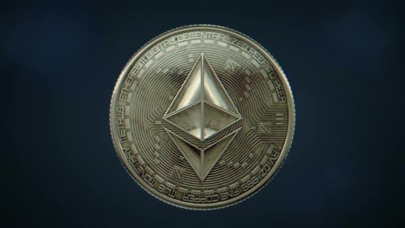 Thumbnail for Ethereum Kryptowährungsmünze