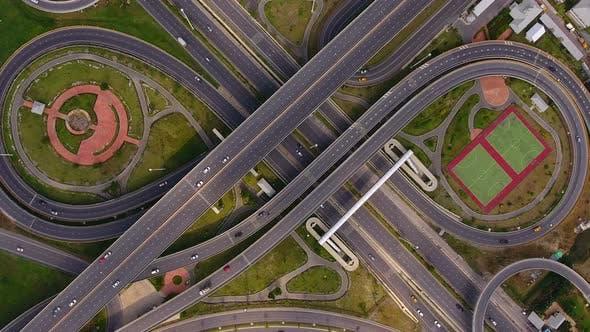 Thumbnail for Traffic Interchange Highway Infinityway