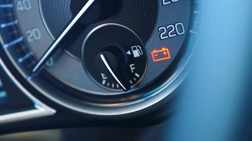 Fuel Refueling Indicator on the Dashboard