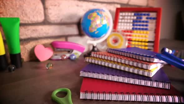 Thumbnail for Colorful School Supplies 4