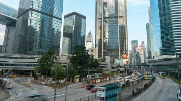 Hong Kong Avenue Traffic
