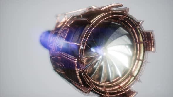 Thumbnail for Jet Engine Turbine Parts