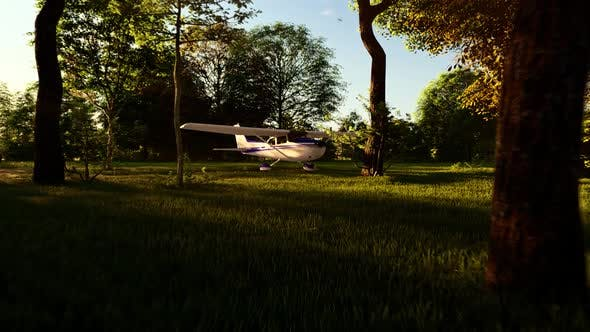 Thumbnail for Airplane Landing in the Forest