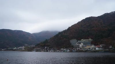 Beautiful nature Kawaguchiko Lake