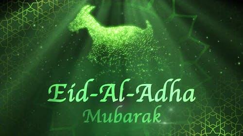 Eid-Al-Adha Mubarak 4k Loop