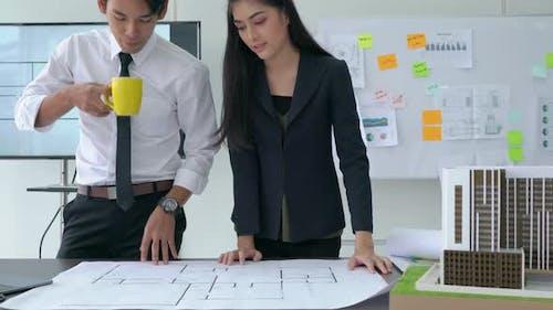 Architect planning