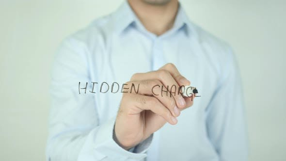 Thumbnail for Hidden Charges, Writing On Screen