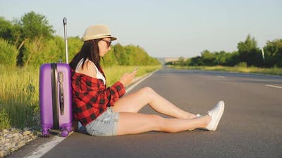 Hitchhiking with a Mobile Cell Phone