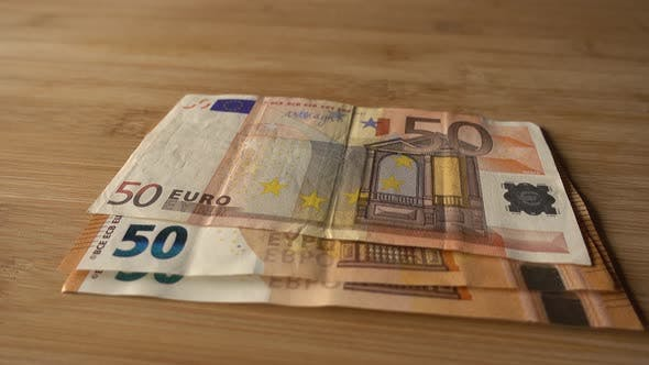Thumbnail for 50 Euros Counting Money