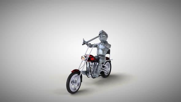 Thumbnail for Fun knight on a chopper