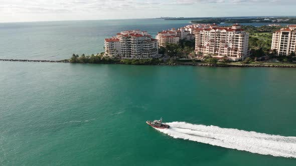 Miami Beach Aerial 4K