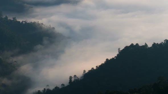 Thumbnail for Mountain Fog Landscape
